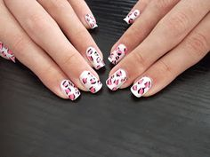 Nanalidades: *Uñas De Leopardo Rosas / Pink Leopard Nails*