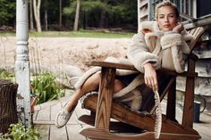 Happy aging! Carolyn Murphy just hit 40. Here for Muse Fall 2014