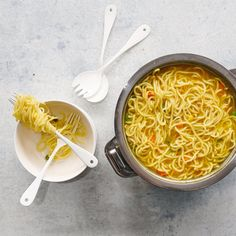 Two-minute noodles…. we've all been partial to them at some stage in our life! But you know my motto, 'homemade is always best', so I figure if people want to enjoy their instant noodles – go ahead! Just make sure you've made them yourself. While these aren't quite '2 minute' noodles, they are still
