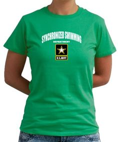 Synchronized Swimming Department - U.s. Army...