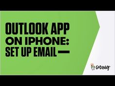 GoDaddy Office 365 Email Setup in Outlook App (iPhone) | GoDaddy
