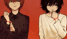 Death Note - Light et L.