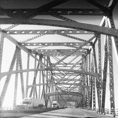 Mississippi River Bridge in Louisiana
