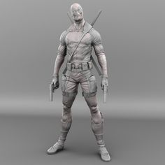 Terrific 10 Fan Art by Mars Zbrush Character, Character Modeling, Character Art, Fantasy Figures, Action Figures, Marvel Statues, Anatomy Sculpture, Human Anatomy Drawing, Small Canvas Art