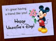 mickey mouse valentines day custom printable by fortysevendesign 700