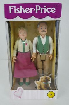 FISHER PRICE Loving Family Dollhouse GRANDPARENTS MATTEL Girls Ages 3+ 1999  | Toys & Hobbies, Preschool Toys & Pretend Play, Fisher-Price | eBay!