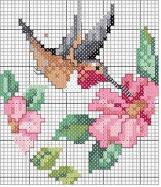 Еще схемы цветов | biser.info - всё о бисере и бисерном творчестве