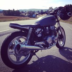 My first cafe project. Honda cb650