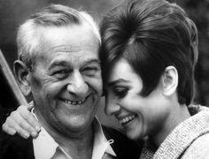 Audrey & William Wyler
