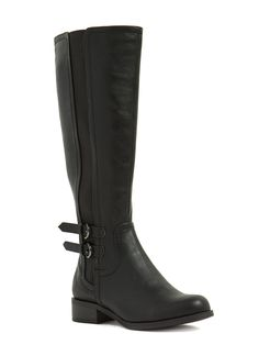 Save A Horse Faux Leather Boots BLACK