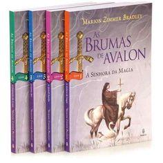 Coleção As Brumas de Avalon. Autor: Marion Zimmer Bradley. Os 4 livros estão em perfeitas condições, sem manchas, rasuras ou amassados. Apenas R$50,00 ou R$ 15,00 cada um.
