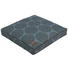 Jax & Bones Milan Teal Premium Cotton Square Pillow Bed