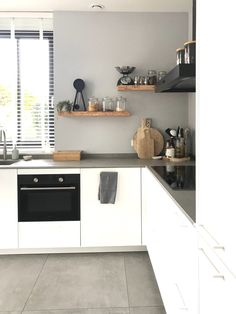 Beautiful Kitchens, Cool Kitchens, Kitchen Interior, Kitchen Decor, Brooklyn Kitchen, Window Seat Kitchen, Kitchen Box, Kitchen Collection, New Home Designs