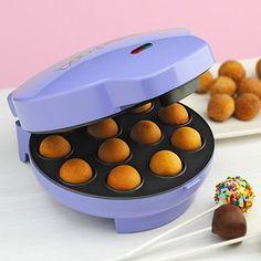 Babycakes Cake Pop Maker!  http://www.kohls.com/kohlsStore/kitchen/top_brands/babycakes/PRD~786364/Babycakes+Cake+Pops+Maker.jsp