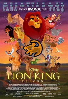 The lion king reborn june 2018 imax poster by LOLDisney on DeviantArt Lion King Fan Art, Lion King Movie, Disney Lion King, Lion King Images, Lion King Pictures, Cartoon Network Adventure Time, Adventure Time Anime, Kiara Lion King, Hakuna Matata