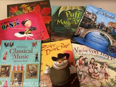 Picture books and chapter books for the music classroom are essentials. Explore this list of books appropriate for upper elementary that cover instruments, composers, careers, history and more.