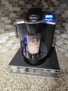 How to Make Ice Coffee With a Keurig, because when i do it, it always come out warm and watered down...:(
