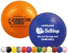 "Mini Basketballs, Vinyl (4.5"") available in 13 bold colors - MiniSportsBalls.com"
