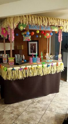 I love Tiki Culture/Polynesian Pop.  It was a loosely island-influenced decorative style, popular in the 1940's to 1970's.  The Beachcomber, Trader Vic's, Disney's Polynesia…