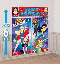DC Super Hero Girls Party Supplies - Party City