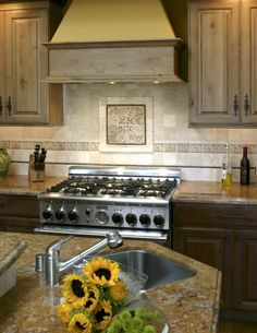 Decorative Tile Backsplash Kitchen Backsplash  Home Sweet Home  Pinterest  Kitchen Backsplash
