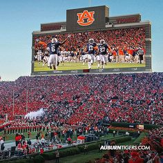 Here it is! The OFFICIAL rendering of college's largest video board coming to Jordan-Hare Stadium. #WarEagle