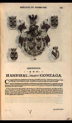 443. 1657; Hannibal Gonzague, Prince of San Martino (1602-1668).