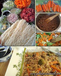 O bifum é muito popular na culinária oriental e frequentemente utilizado para fazer pratos quentes e frios, o yakibifum de carne é uma receita bastante ...