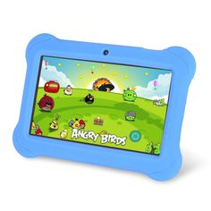 Amazon.com: Orbo Jr. 4GB Android 4.1 Five Point Multi Touch Tablet PC - Kids Edition [March 2014] - Blue: Computers & Accessories