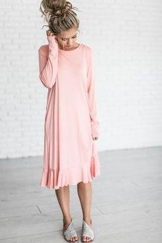 Petal Dress - Blush