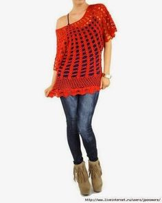 Asos designs are among of the most popular crocheted design for casual wear. They have a certain something you cannot define, a loos...