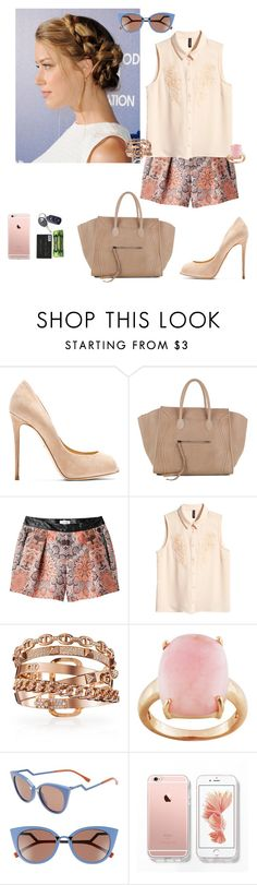 """""""something to believe in"""" by dearme-xoxo on Polyvore featuring moda, Dolce&Gabbana, CÉLINE, Helmut Lang, H&M e Fendi"""