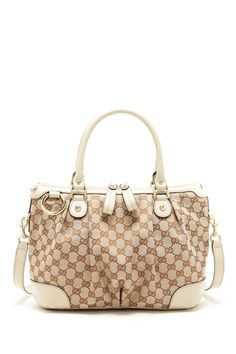 Gucci canvas logo crossbody - HauteLook
