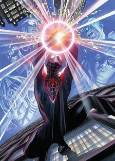 Spider-Man by Alex Ross Marvel Comic Universe, Marvel Comics Art, Marvel Avengers, Dc Universe, Captain Marvel, Univers Marvel, Alex Ross, Star Trek, Miles Morales Spiderman