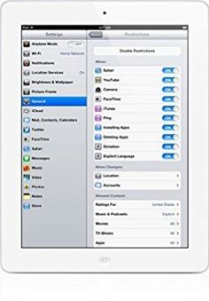 Apple iPad MD328LL/A (16GB, Wi-Fi, White) 3rd Generation (Certified Refurbished)   Size:16GB Color:White 9.7 retina display; 2048 x 1536 resolution apple ios 5; dual-core a5x chip Read  more http://themarketplacespot.com/apple-ipad-md328lla-16gb-wi-fi-white-3rd-generation-certified-refurbished/