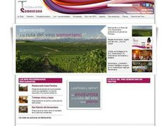 Ruta del Vino Somontano. www.rutadelvinosomontano.com #web #Aragon #vino