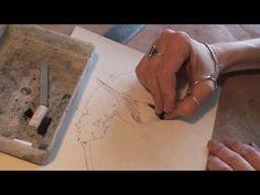 ▶ Time-lapse Pastel Painting - Chickadee Study Demo - YouTube