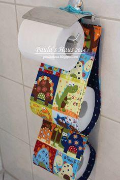 WC-Rollenhalter selbstgenäht #diy