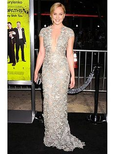 Abbie Cornish in Reem Acra-- StyleWatch's Best Dressed Star of the Week