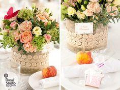 Флористическая студия FloralStudio.ru: Персиковая свадьба