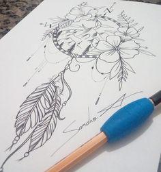 Monster Tattoo, Dream Catcher, Tattoos, Art, Dreamcatchers, Tatuajes, Tattoo, Japanese Tattoos, Kunst