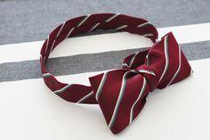 ネクタイを使った蝶ネクタイの折り方