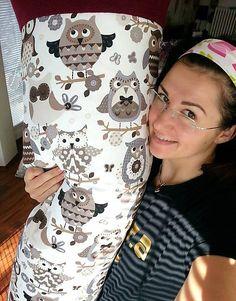 HEDERVIGA / Skladom ! Medzinožník LARGE ... múdre sovičky Cute Pillows, Fashion, Moda, La Mode, Fasion, Fashion Models, Trendy Fashion