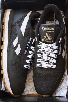 Palace x Reebok Classic Leather: Brown
