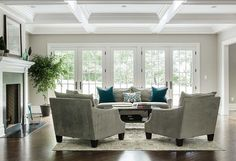 Living Room Ideas. Living Room Decor Ideas. Dubinett Architects, llc.
