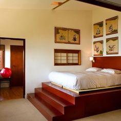 Raised Platform Bed Design, Pictures, Remodel, Decor and Ideas