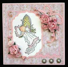 LILY OF THE VALLEY   BABY CHRISTENING  STAMP  £6.49 NEW & SEALED FREE UK P&P