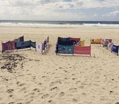 #TropicalLoveland #WetDry #Swell2015 #Australia #towels #landscape #beachlife #beach #sun #surf #fun #queensland #sculpture #art by swellsculpture