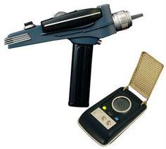 Show details for Star Trek Communicator and Phaser 2-pk