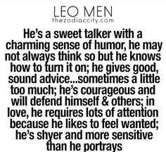 what not to do when dating a leo man